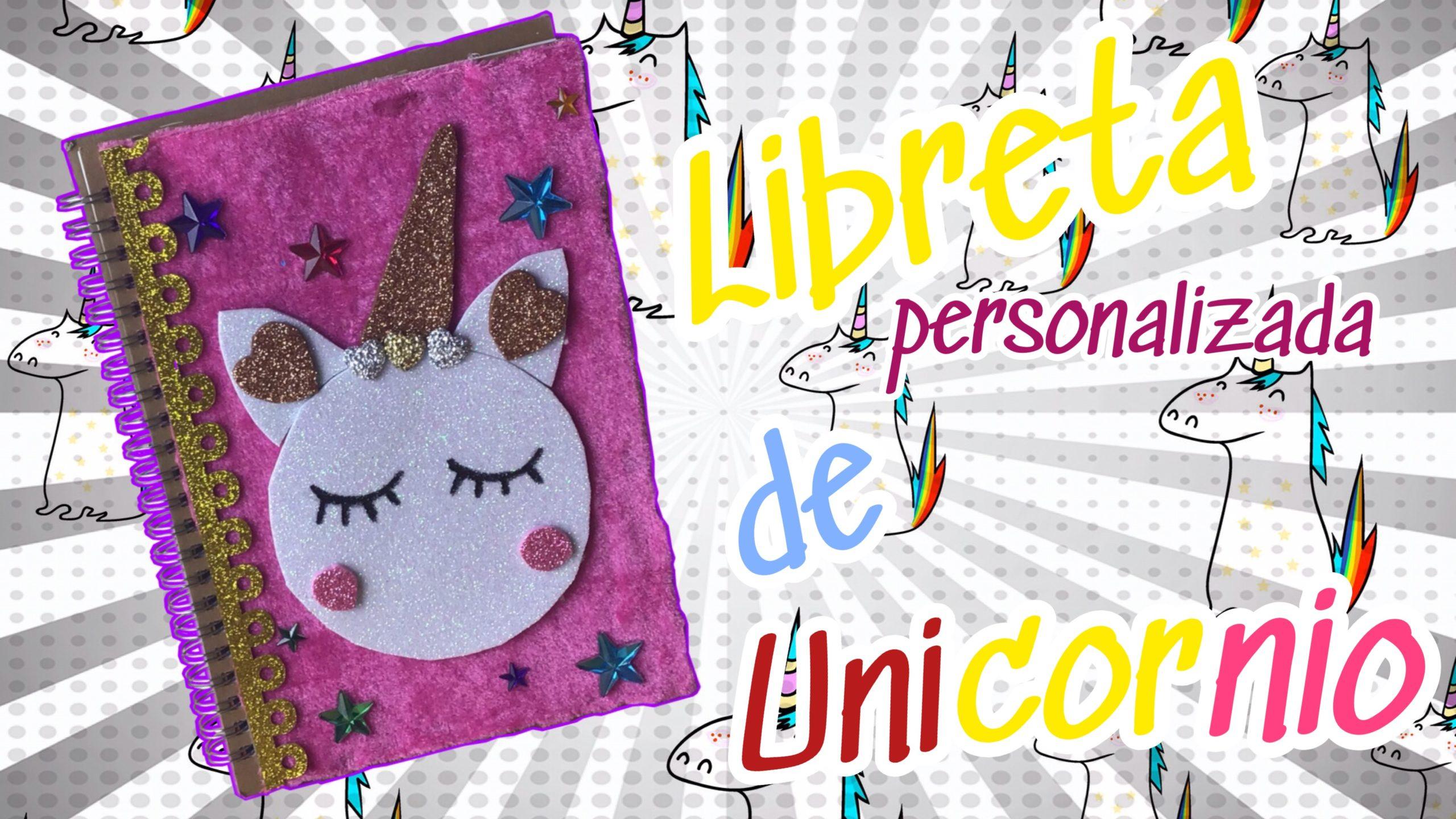 libreta de unicornio