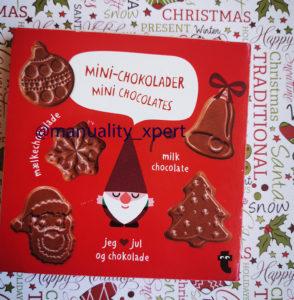 chocolatinas para el calendario de adviento