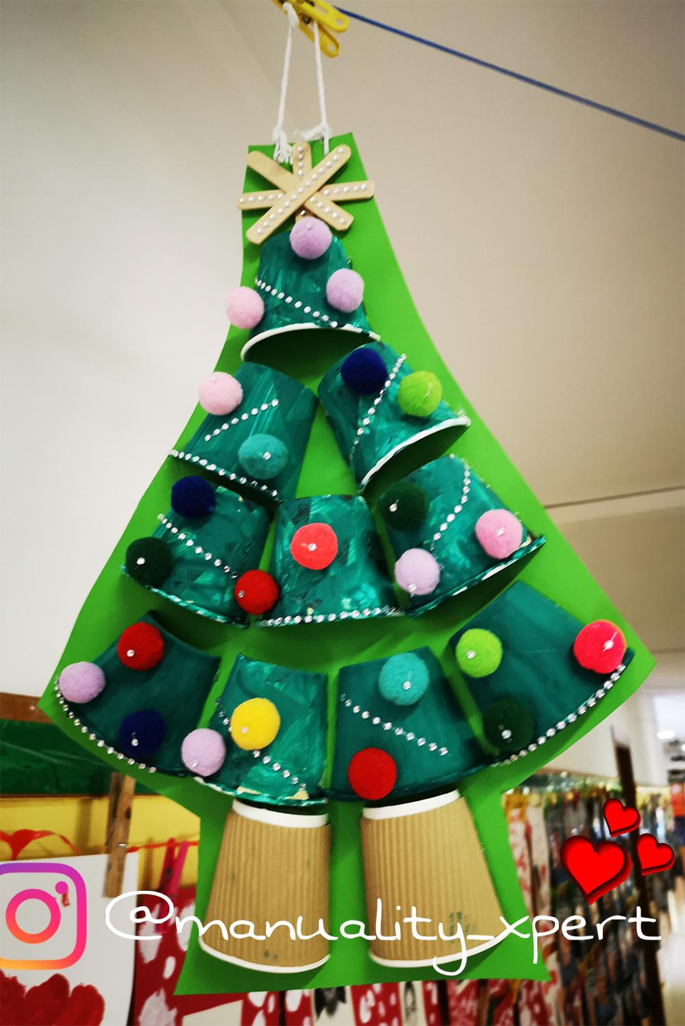 árbol navideño cápsulas Nespresso