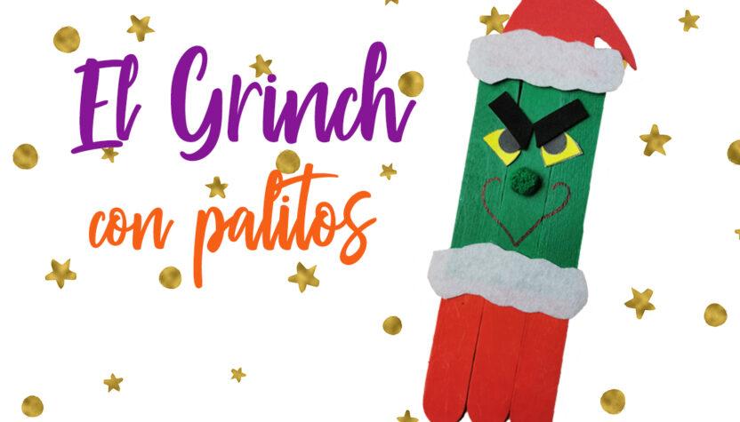 El Grinch con palitos