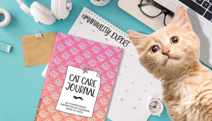 Cat Care Journal, el diario de cuidados de tu gatito