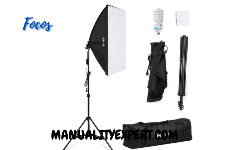 Focos iluminación para fotografía y vídeo