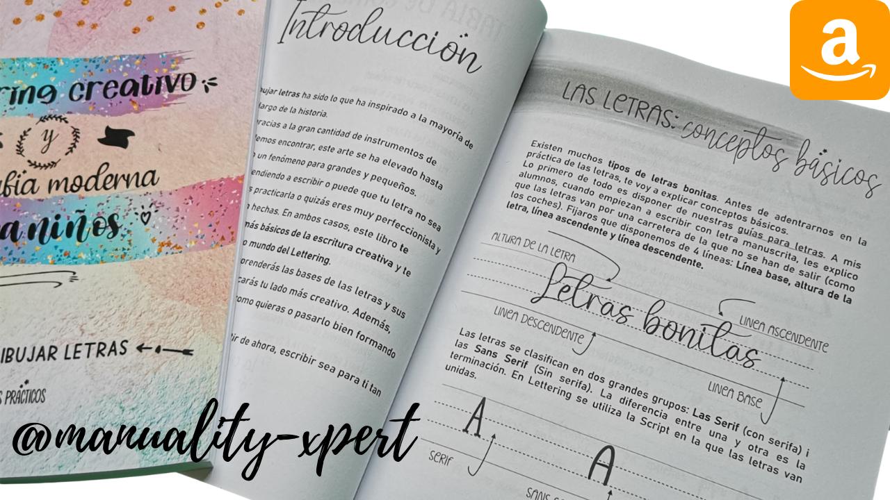 Lettering creativo y caligrafia moderna para niños