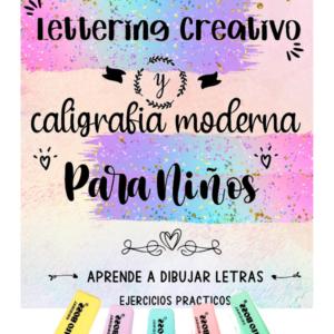 Libro de letterig para niños