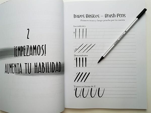 Libro de lettering para principiantes. Aprende desde 0