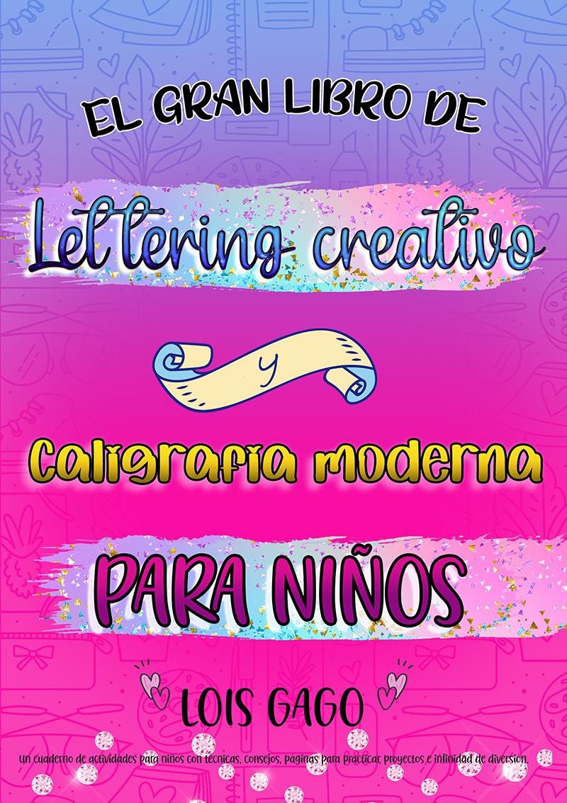 Libro lettering para niños