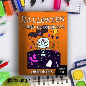 Libro de colorear Halloween para niños