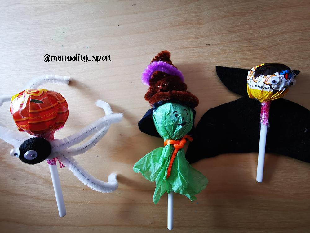 como hacer unas chuches decoradas para halloween